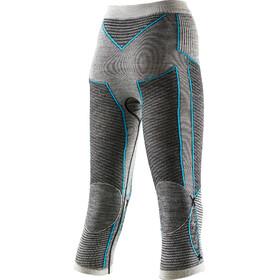X-Bionic Apani Merino By X-Bionic Fastflow Uw Pants Lady Medium Black/Grey/Turquoise